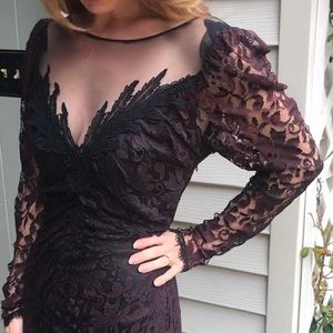 {True Vintage} dark romantic lace dress